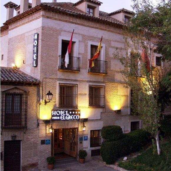 toledo de la mano hotel pintor el greco 4 On hotel pintor el greco