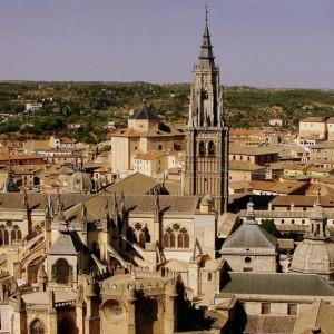 Catedral Primada e iglesia de San Ildefonso. Toledo, España.